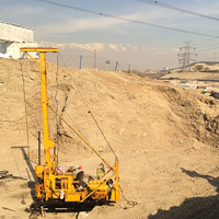 Drilling and geotechnical studies of water reservoir project of flowers